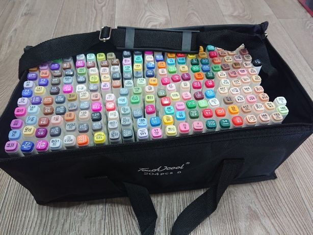 Скетч-фломастеры маркеры набор 36,48,60,80,120,204 300грн