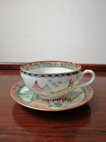 Chávena Antiga - Louça de Macau