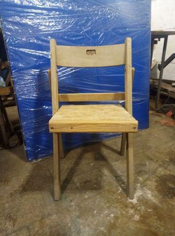 Продам стулья деревянные раскладные б.у. 84*50*42 для дома, дачи...
