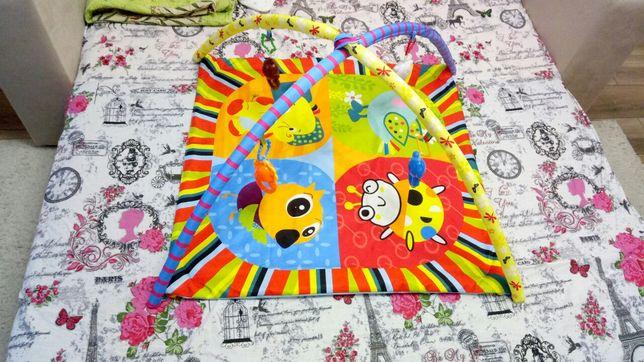 Игровой коврик для младенца 0-6мес