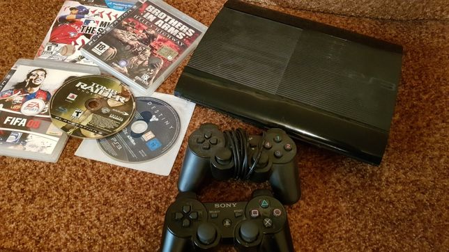 Sony Playstation 3 Super Slim.Прошита ХАН 40gb +6 игр!!!