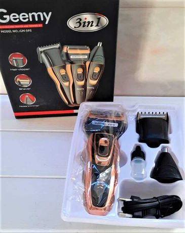 Машинка для стрижки, электробритва, триммер Geemy Gm-595