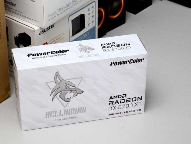 PowerColor 6700 XT Hellhound White