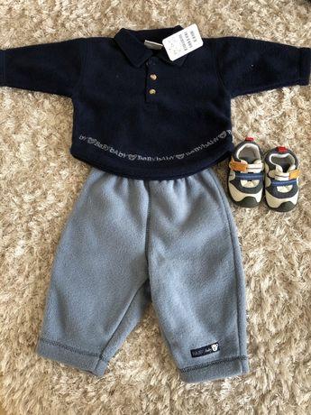 Костюм на хлопчика H&M та кросівки (кеди)
