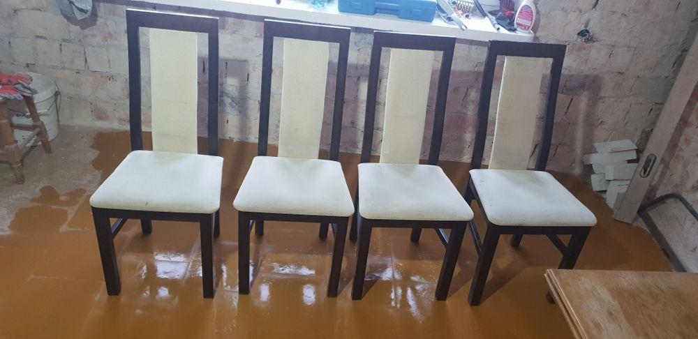 Stol i krzesla w stanie dobrym . Ełk - image 1