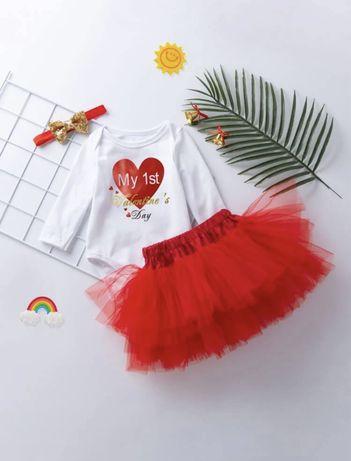 Conjunto Bebé ^ My First Valentine Day - Oferta portes