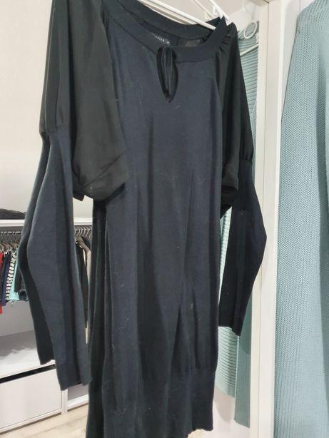 Sukienka tunika czarna MOHITO m