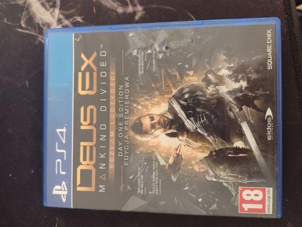 """Gra Ps4 """"Deus Ex : Mankind Divided Rozłam Ludzkości"""""""