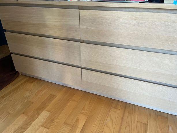 Komoda IKEA Malm 6 szuflad
