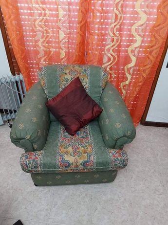 Sofás com almofada terno oferta cortinados
