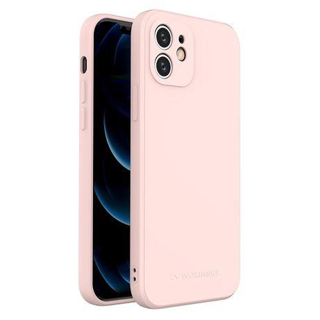 Capa Silicone Lmobile Iphone X E Xs - Rosa