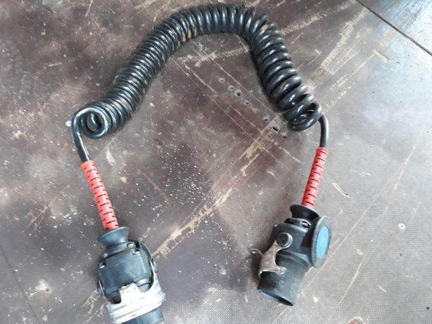 Кабель электрический спиральный полуприцепа