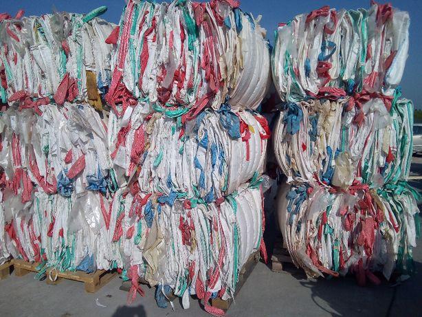Worki Big Bag Używane 95/95/230cm 1300kg Udzwigu Sztywny Materiał
