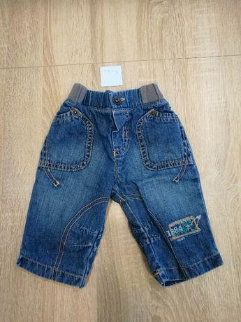 Ubranka, paka dla chłopaka, rozmiar 3-6m-cy, 2szt, spodnie, pajacyk