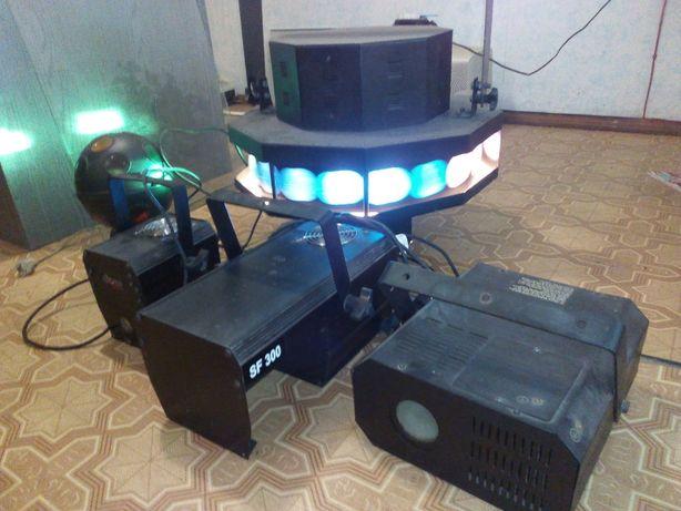 Продам световые приборы для дискотек