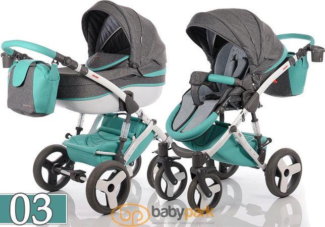 Универсальная коляска 2в1 Tako baby heaven colors