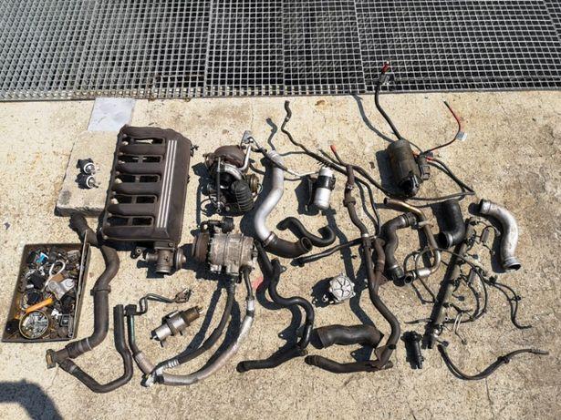 BMW E46 330D 3.0 Słupek osprzęt turbina rozrusznik alternator kolektor