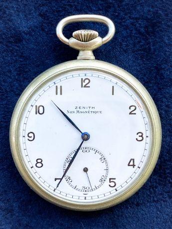 Relógio Bolso Zenith Non Magnetique 1945