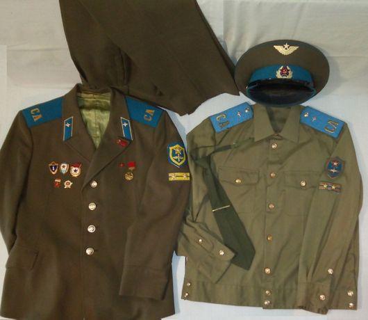 Военная форма, фуражка, фурнитура (летные войска СССР)