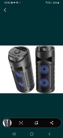 Głośnik stereo  bluetooth  kolorofon radio mp3 wyprzedaż