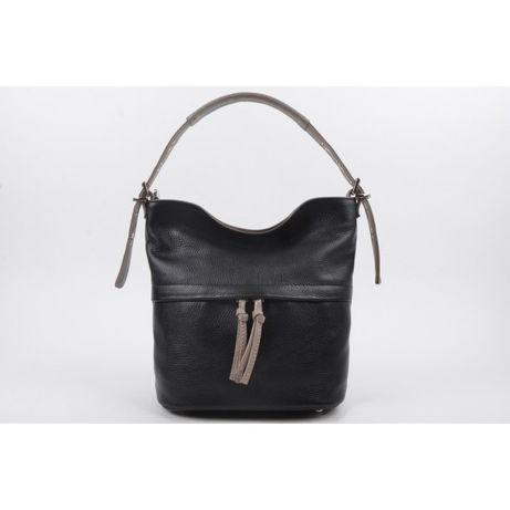 Женская кожаная сумка Giorno черная 2024652-4