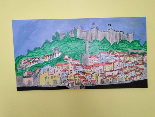 Pintura original Lisboa