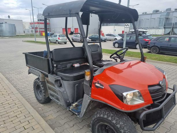 Kioti Mechron 220 pojazd UTV