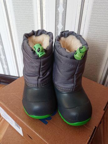 Сапоги зимние детские сноубутсы