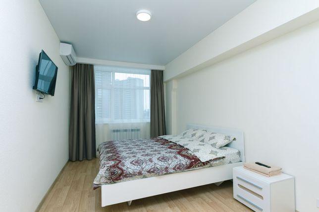 Аренда квартира почасово - посуточно в новом ЖК Smart Hause