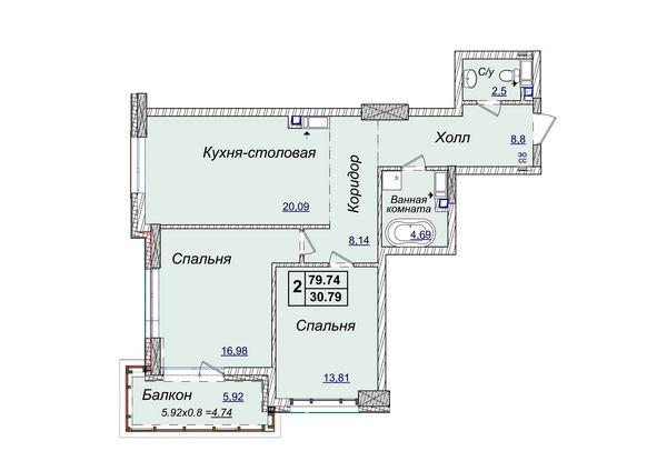 Новопечерские Липки , Драгомирова , продажа 79 м новый дом Киев - изображение 1