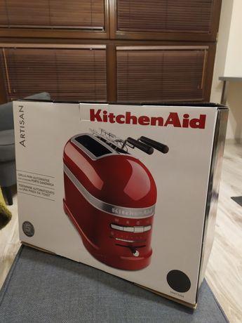 Toster KitchenAid SREBRNY NOWY artisan 2