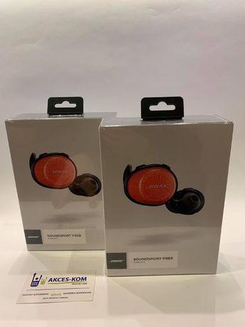 AKCES-KOM Nowe Bose soundsport free wireless navy orange zapakowane