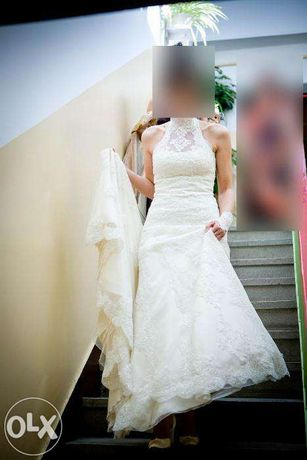 Suknia ślubna La Sposa Manacor, rozmiar 36 (wzrost 172cm)