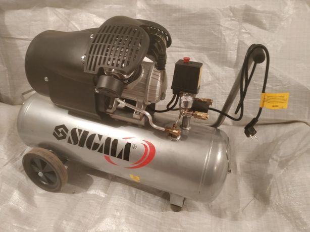 Компрессор Sigma 2-х цилиндровый 500 л.м. Срочно!!!
