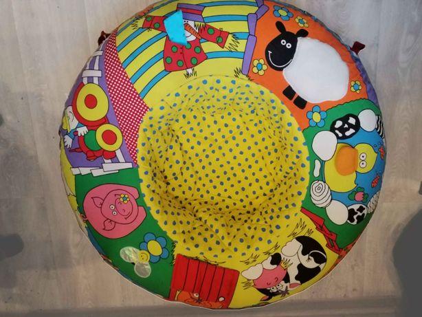 Развивающий коврик, манеж, гнездо, надувное кресло для малышей