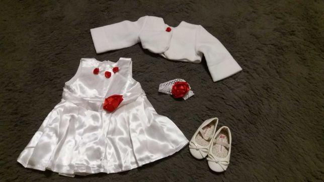 Ubranie, sukienka do chrztu, na wesele, na przyjęcie