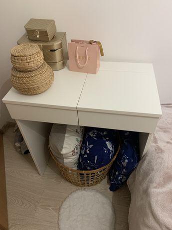 Toaletka konsola Brimnes Ikea biała