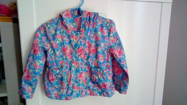 Piękna kurtka w kwiatki 86