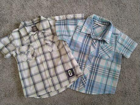 Zestaw 2 koszul H&M 86 chłopięce