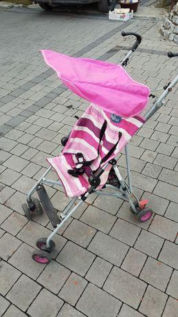 Wózek spacerówka dla dziewczynki tanio