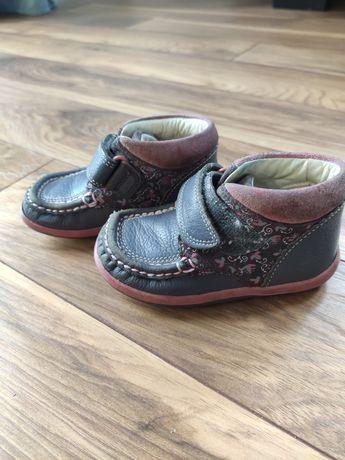 Skórzane buty Clarks roz 22