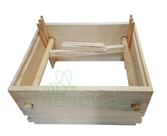 Кондуктор для сборки рамок, на 10 рамок Дадан, рута ,145мм, деревянный