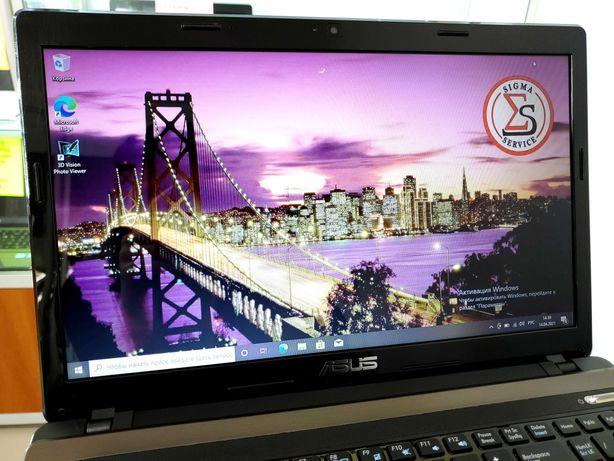 Быстрый надёжный ноутбук ASUS (core I5+SSD) Идеальное состояние. SIGMA