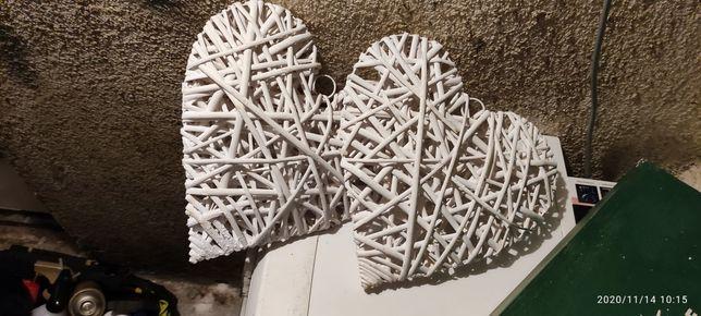 Dekoracja na ślub wesele korona serca