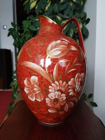 """Wazon Rosenthal """"Magiczny ogród"""" (Zaubergarten) ręcznie malowany 4"""