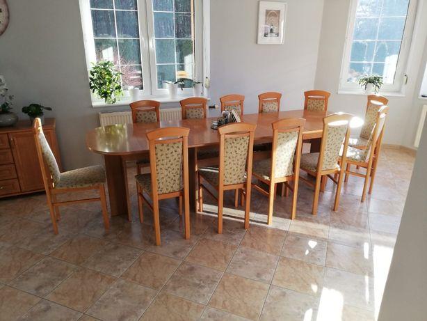 Komplet stół z krzesłami + komoda gratis