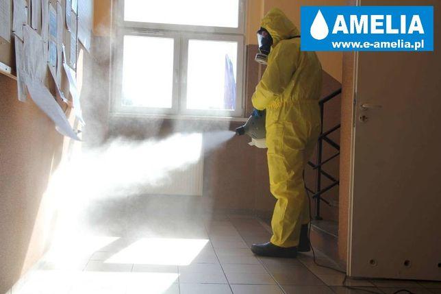 Dezynfekcja chemiczna Ozonowanie UV zamglenie Strzelce Krajeńskie FVAT