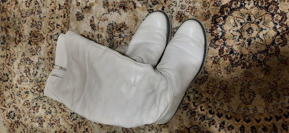 Сапоги кожаные  santi Каменское - изображение 1