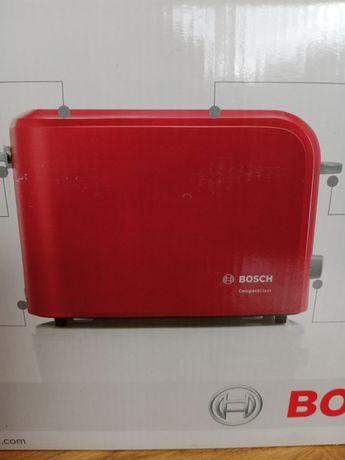 Toster Bosch czerwony nowy