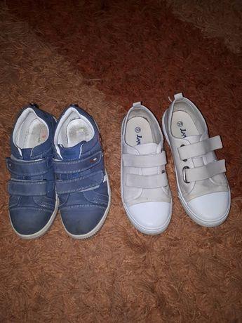 туфли кеды мокасины 33 размер